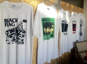 Black Flag t-shirts
