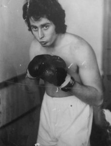 Robert Susz boxing in 1970s