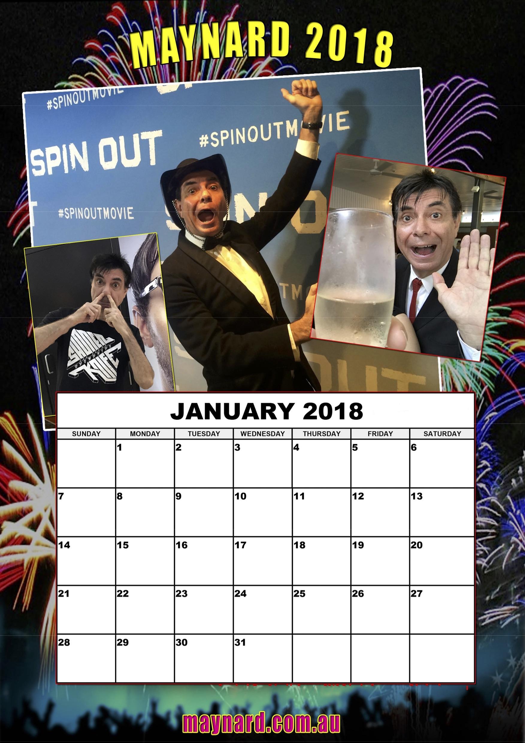 download your free 2018 maynard calendar planet maynard