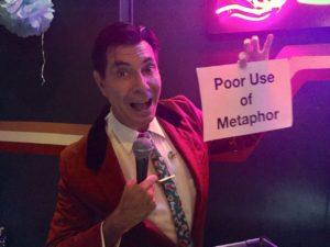 Maynard hold up 'Poor use of metaphor