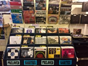 The record Store,