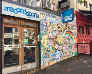 The Record Store entrance on Goulburn St, off Crown St in Darlinghurst