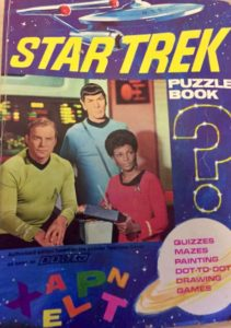 Star Trek 1969 BBC-TV Puzzle Book cover