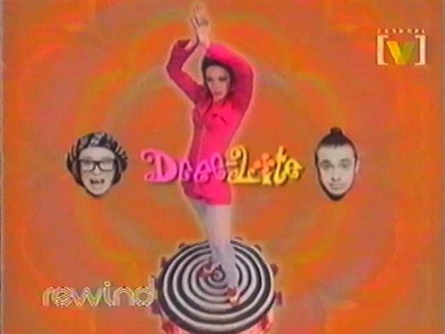 Still from Dee Lite music clip