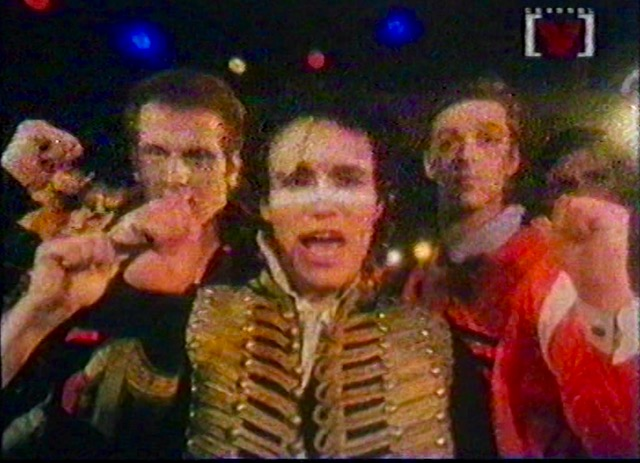 Adam and the Ants on Maynard's Rewind show 1997