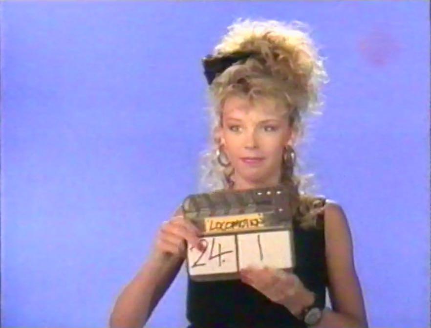 Kylie Minogue in locomotion film clip