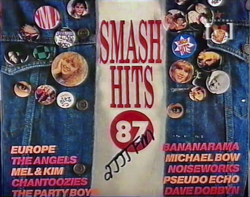 Smash Hits 1987 record cover