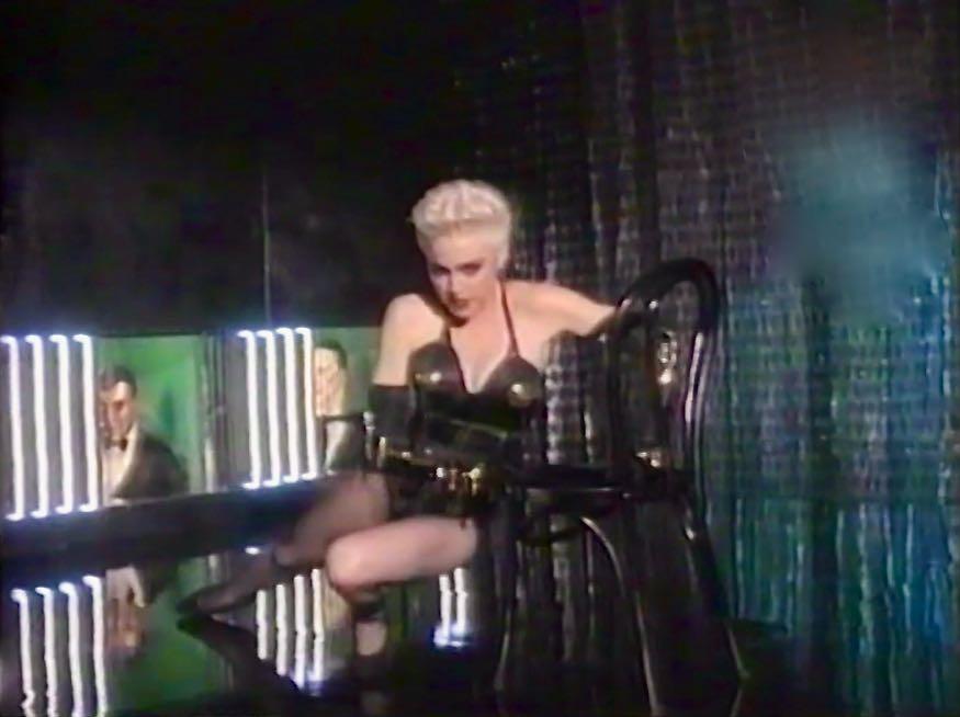 Madonna in True Blue film clip