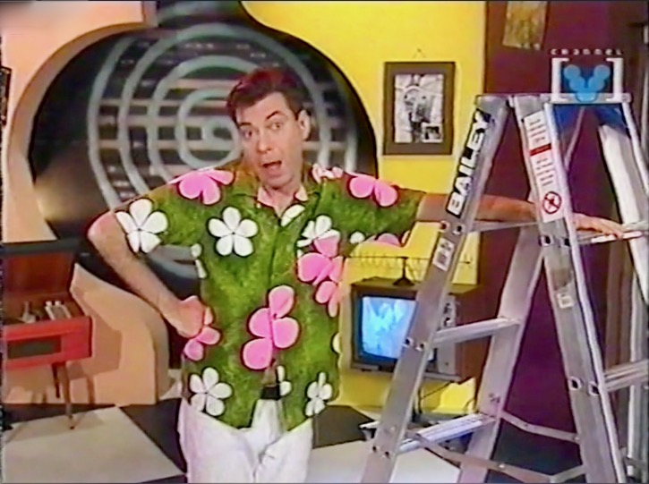 Maynard renovating his TV studio