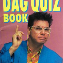 Maynard's Dag Quiz Book, front cover