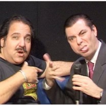 Maynard meets adult legend Ron Jeremy 2005